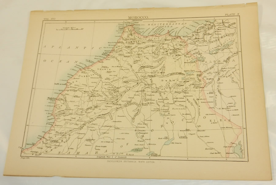 Details about 1883 Antique COLOR Map/MOROCCO on map of africa, map of the us, map of greece, map of senegal, map of the mediterranean, map of tangier, map of atlantic ocean, map of gibraltar, map of fez, map of world, map of romania, map of marrakech, map of nicaragua, map of austria, map of mali, map of algeria, map of honduras, map of saint martin, map of western sahara, map of mongolia,