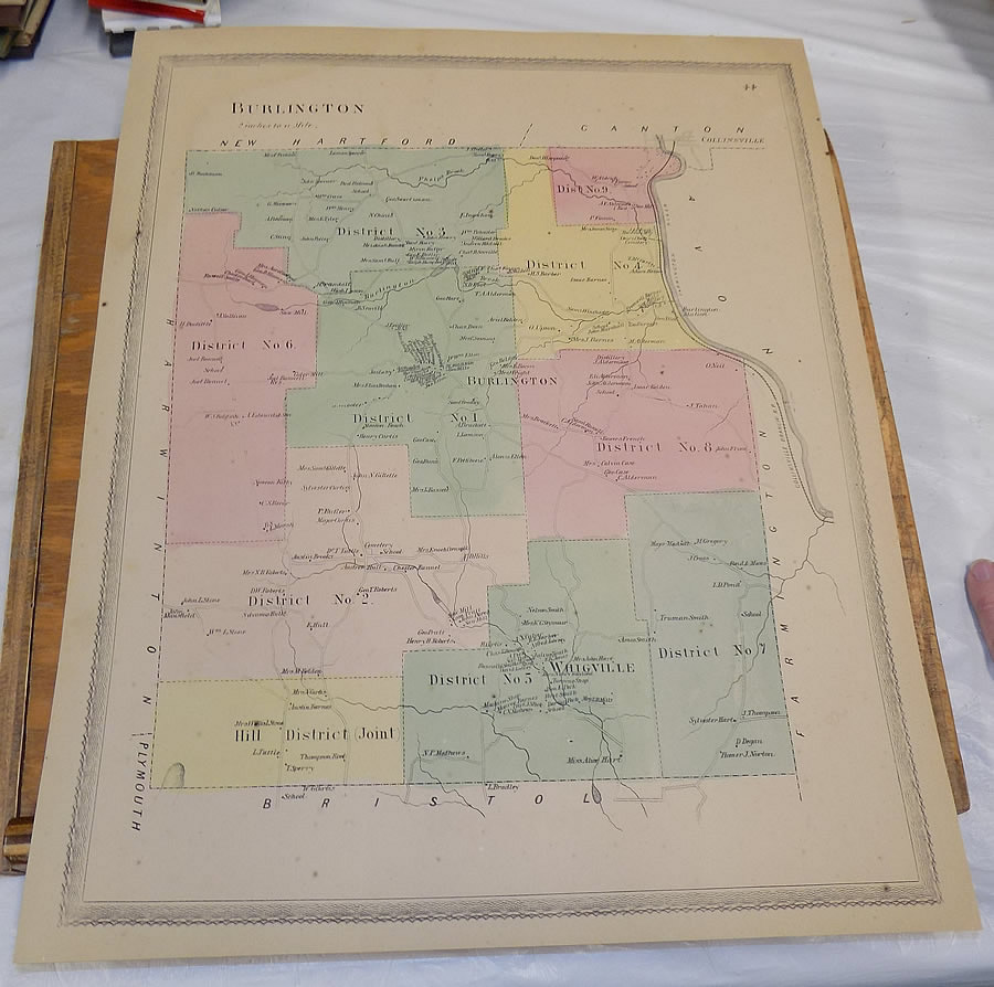 Details about 1869 Hartford County, CT Atlas Map///PLAN OF THE TOWN on newport county ct map, falls village map, franklin county ct map, harrison county ms map, east hartford ct map, tolland county ct map, litchfield county ct map, essex county ma map, windham county ct map, middlesex county ma map, santa barbara county map map, york county me map, new milford map, putnam county ny map, saint louis county mo map, dane county wisconsin map, westchester county ct map, middlesex county nj map, middlesex county ct map, city of hartford ct map,